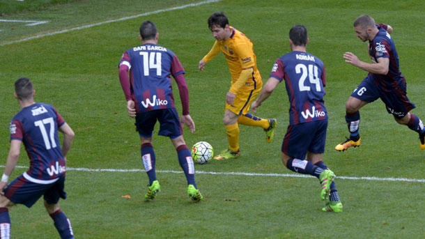 Jordi Cardoner destacó el buen partido de Messi contra el Eibar