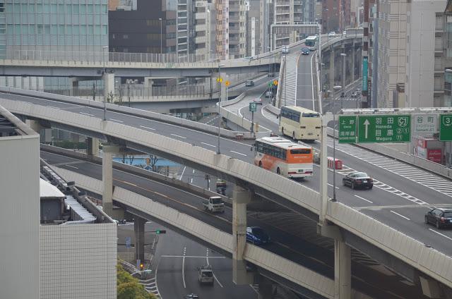 Flyover Junction, Akasaka, Tokyo(高架道路ジャンクション、赤坂、東京)