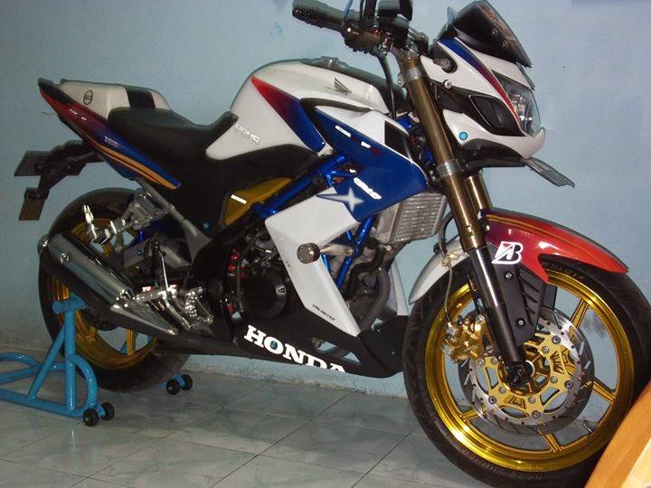 Modifikasi Honda CB150R Keren