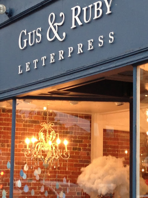 gus and ruby letterpress - portsmouth, new hampshire