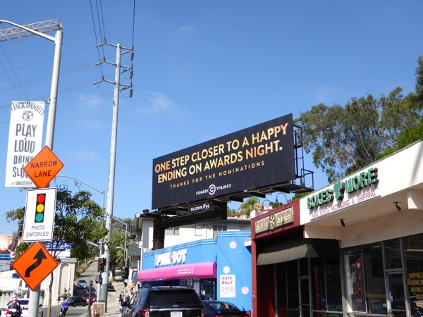 Comedy Central 2015 Emmy nomination billboard