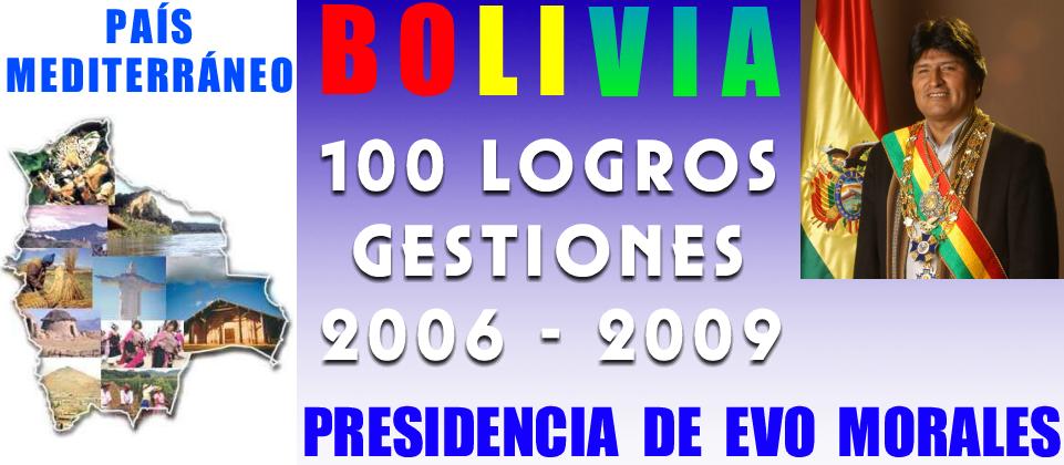 PRESIDENCIA EVO MORALES: LOGROS