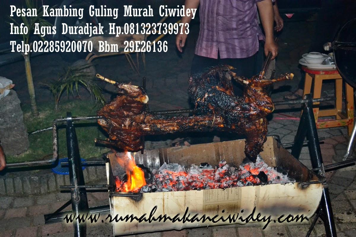 Pesan Kambing Guling di Rumah Makan Ciwidey Maranty Catering