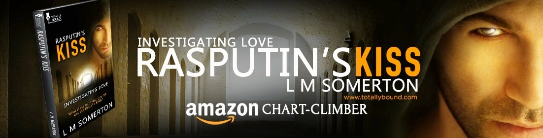 http://www.amazon.com/Rasputins-Kiss-Investigating-Love-Somerton-ebook/dp/B00IUPFY0S/ref=sr_1_1?s=digital-text&ie=UTF8&qid=1394632312&sr=1-1&keywords=rasputin%27s+Kiss
