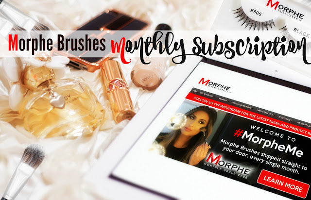 The Morphe Monthly Brush Club-A Must Join Subscription Box, By Beauty Blogger Barbie's Beauty Bits