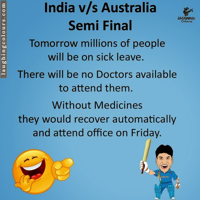 India vs Australia match whatsapp jokes