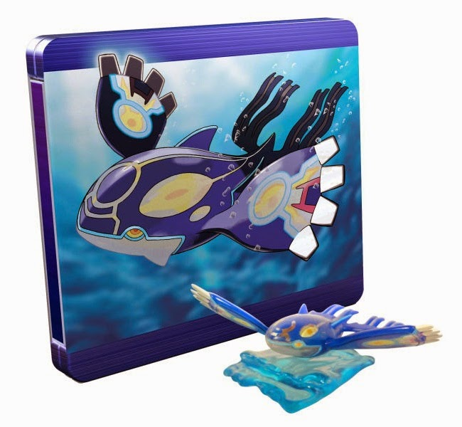Limited Edition Bundles for Pokemon Omega Ruby and Alpha Sapphire in the UK