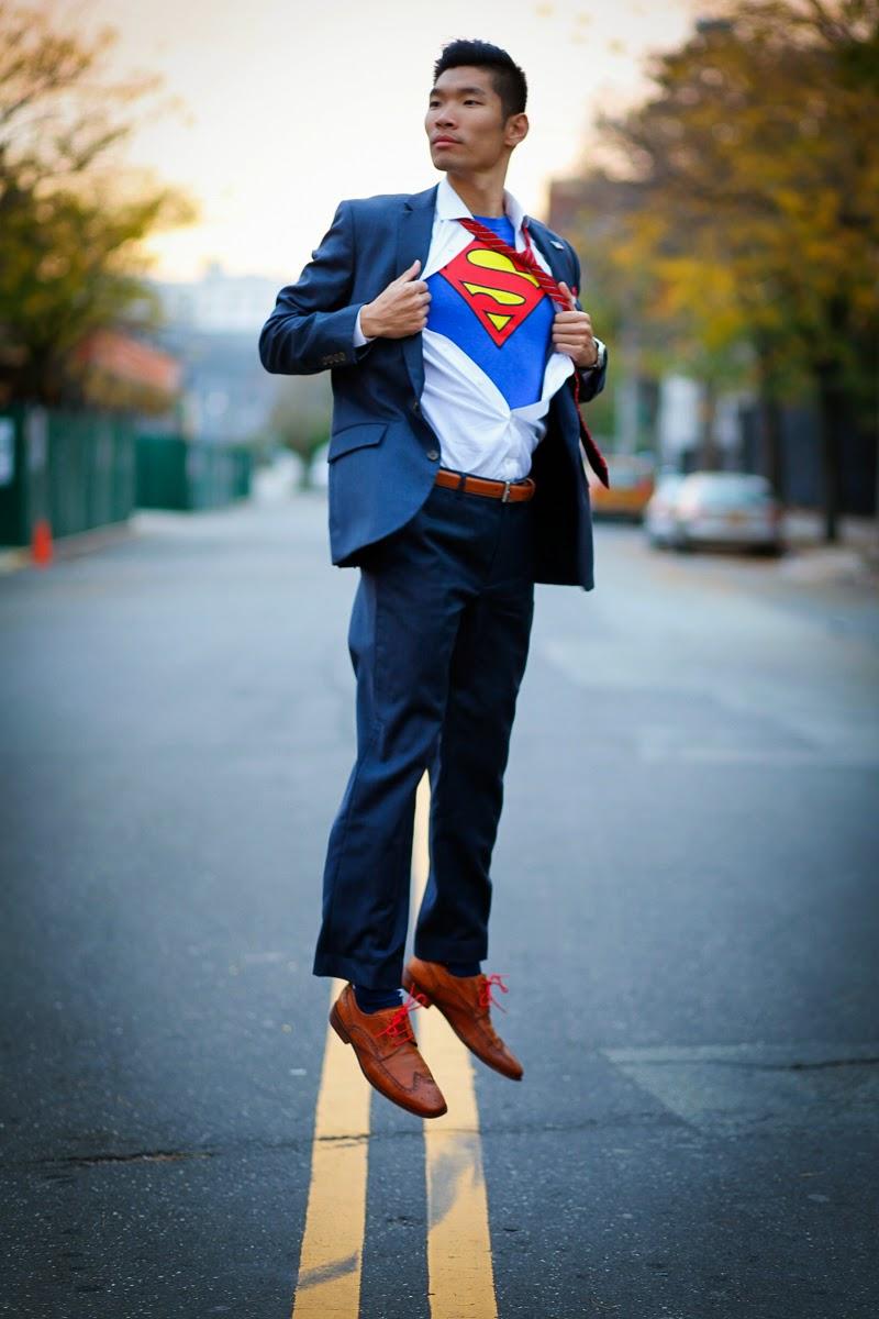 Clark Kent Levitate Style