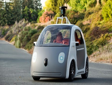 αυτοκίνητο χωρίς οδηγό της Google