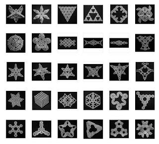 Фигуры из неокуба. Фигуры из неодимовых магнитных шариков.