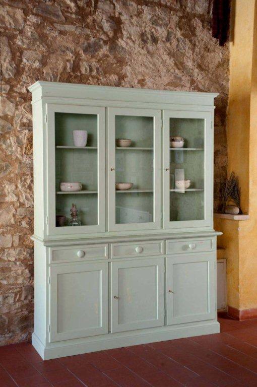 Arredamento country vetrine soggiorno country for Arredamento vetrine