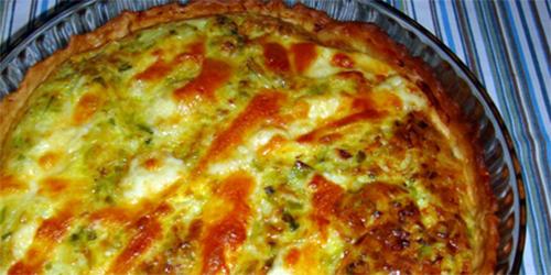 receta de Pastel de Verdeo y Queso