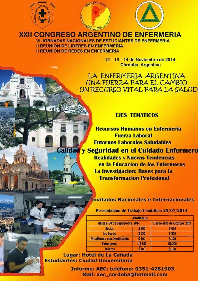 XXII CONGRESO ARGENTINO DE ENFERMERIA