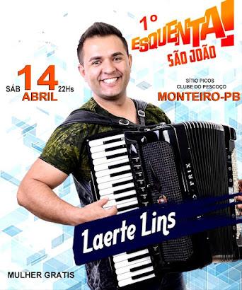 Laerte Lins; dia 14 de abril no sítio Picos em Monteiro-Pb - Clube do Pescoço