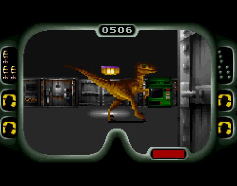 Jurassic Park (SNES) recria a luta pela sobrevivência em meio a dinossauros JP16
