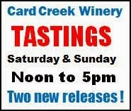 10-18/19 Card Creek Winery, Roulette, PA
