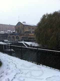 Winter at Camden Lock