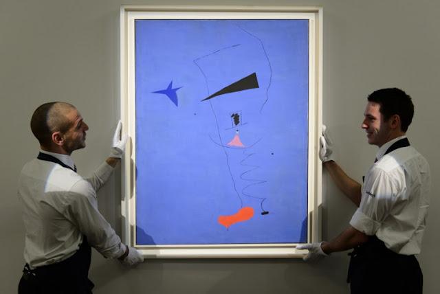 شاهد اللوحة الفنية //التي بيعت بـ 37 مليون دولار و اثارت دهشة الملايين