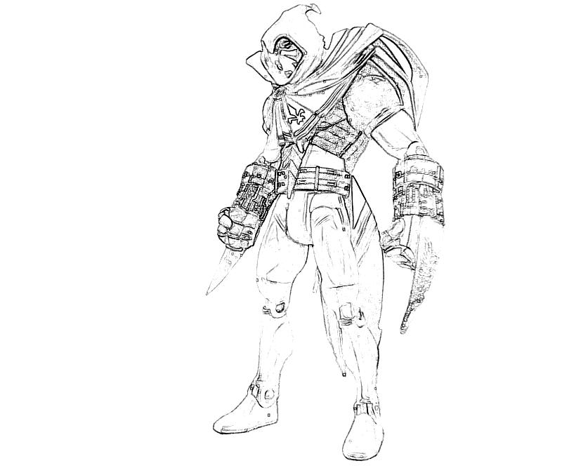 printable-batman-arkham -city-azrael-armored-coloring-pages