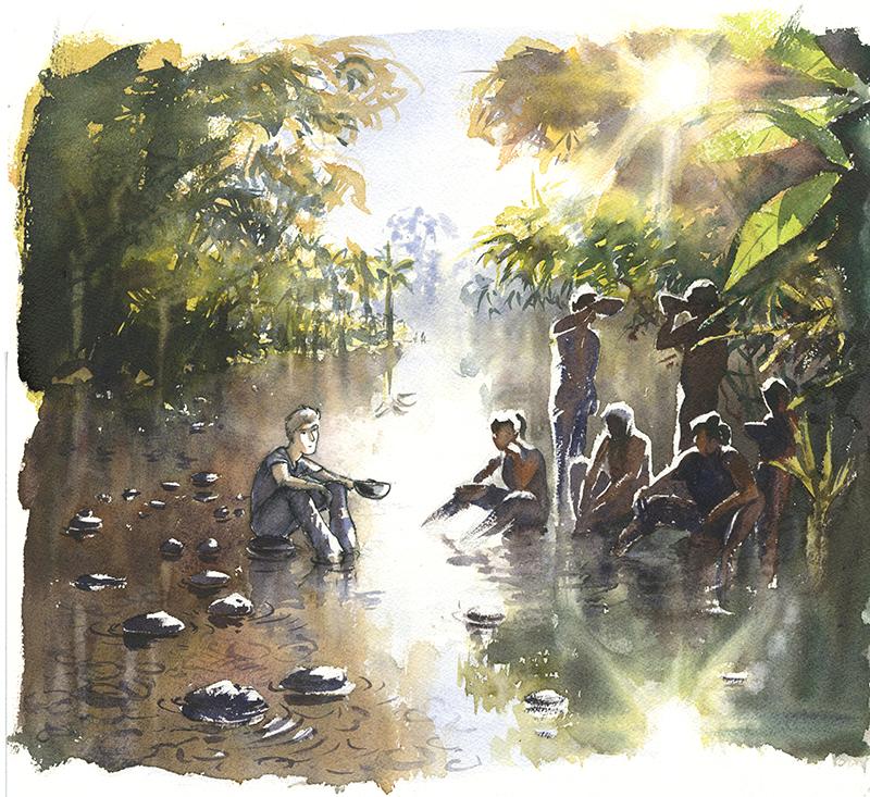 rio pastaza Achuar Numbaïme
