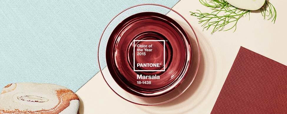Marsala ...Marsala! Το χρώμα του 2015!