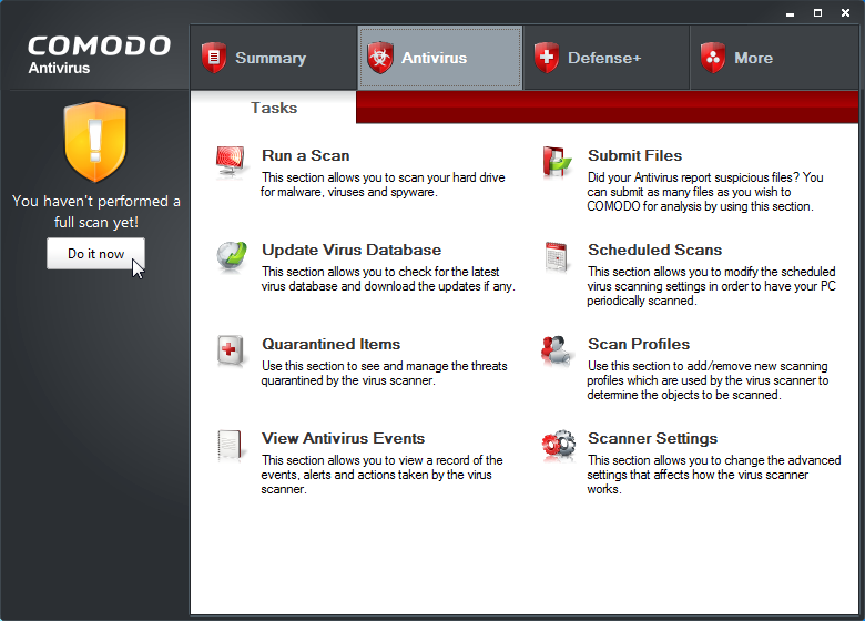 Free Download Comodo Antivirus