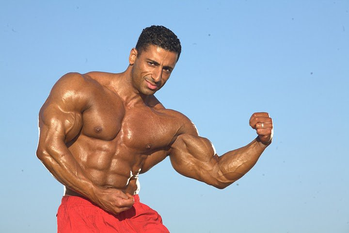 Ahmad Ahmad Bodybuilder