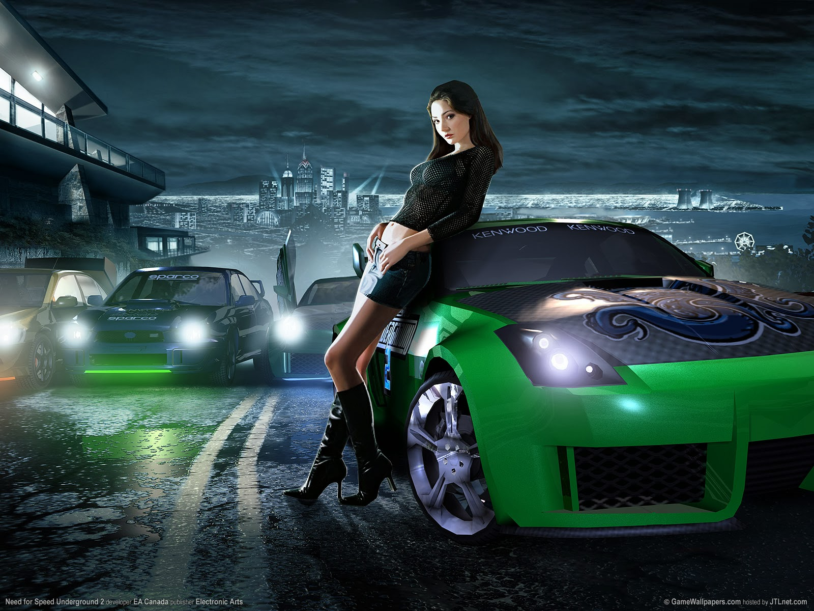 Wallpaper Need For Speed Underground 2