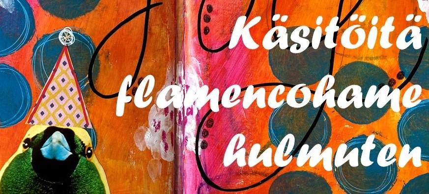 Käsitöitä flamencohame hulmuten