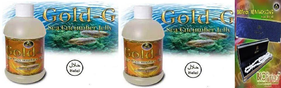 Gold-G Sea Cucumber Jelly Tripang Gamat Jelly