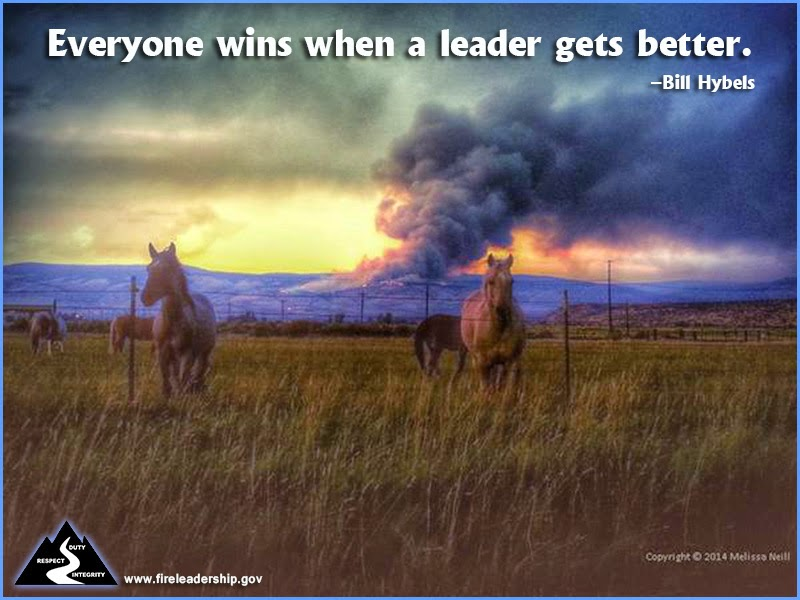 """Everyone wins when a leader gets better."" ~ Bill Hybels"