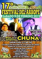17º Festival del Arrope en Chuña