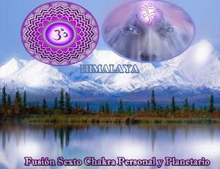 Yo soy Gaia, hoy regresé de nuevo para guiarlos en la fusión de su sexto Chakra con el mío en mi cuerpo planetario, para aumentar la visión de Nuestra Unidad.