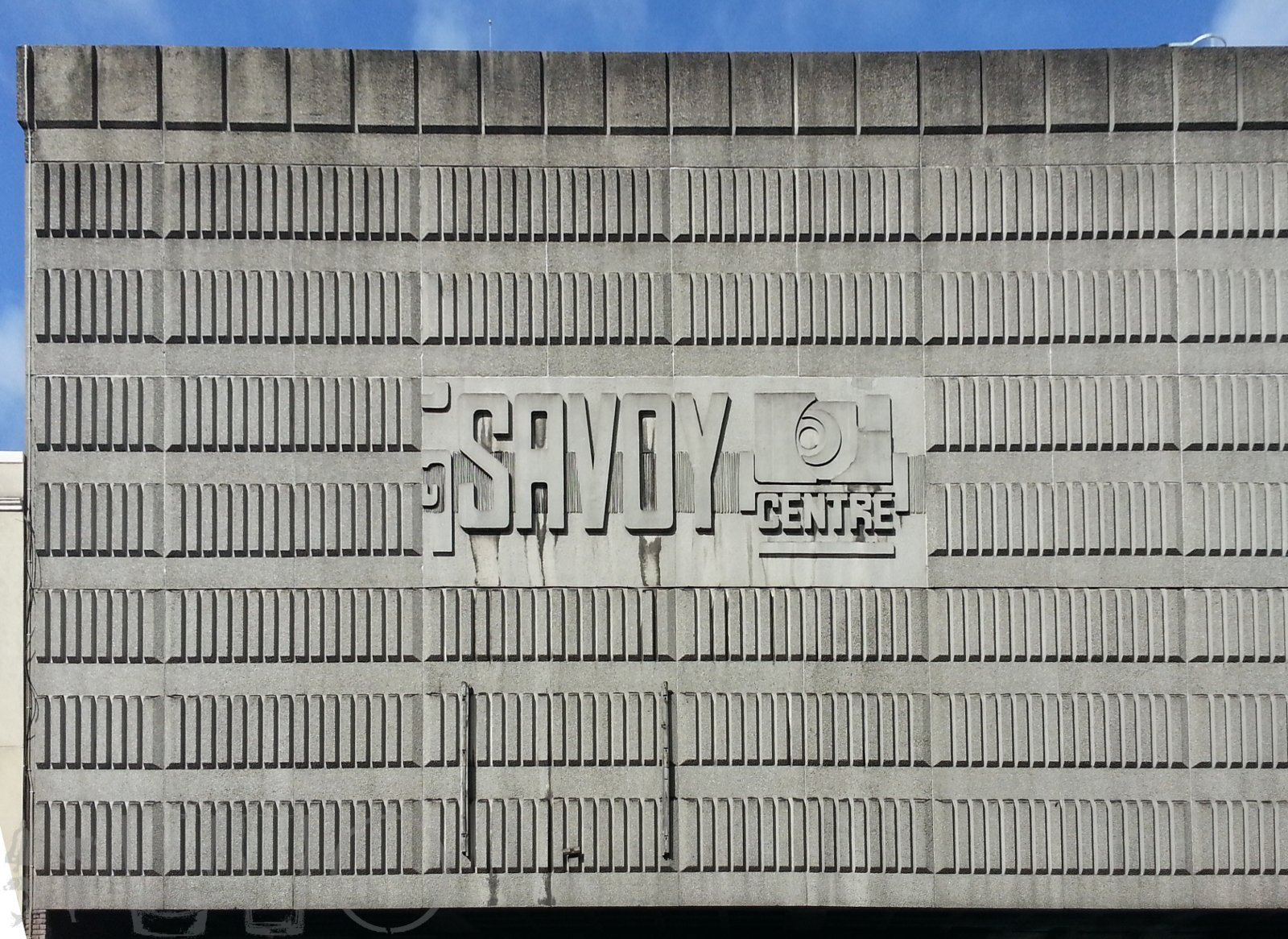 Savoy Centre Sign, Glasgow