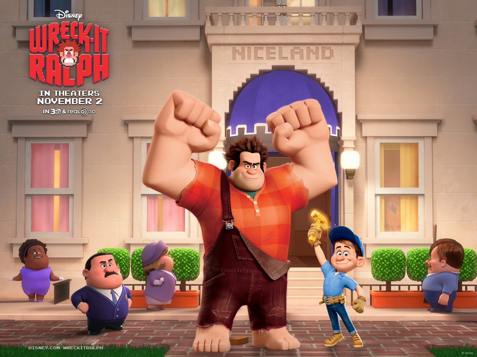 Wreck it ralph interview with producer