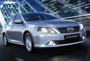 2012 Toyota Camry Wallpaper
