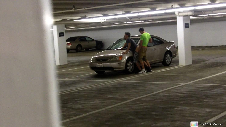 twink parking garage