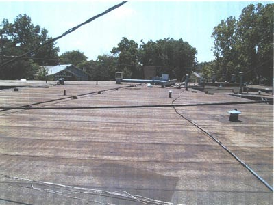 White Roofing Systems Limitations Of Modified Bitumen