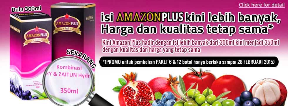 Amazon Plus Jus Kesehatan