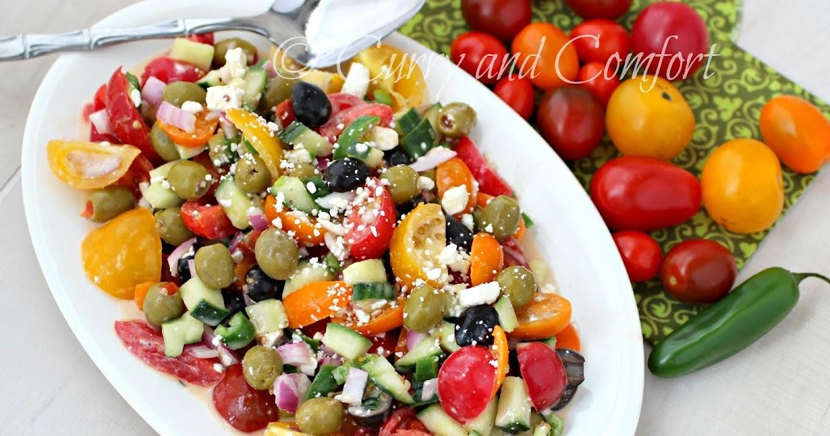 greek pasta salad with sun dried tomato vinaigrette tomato feta salad ...