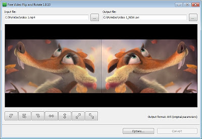 Free Tools to Rotate and Flip Display of your Taken Videos