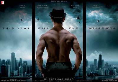 Aamir Khan bare back open dhoom 3 movie six pack body