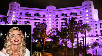 Seminole Hard Rock, Anna Nicole Smith