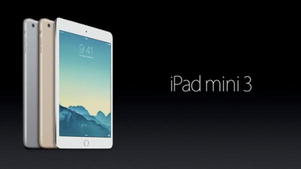 Spesifikasi dan Harga iPad Mini 3