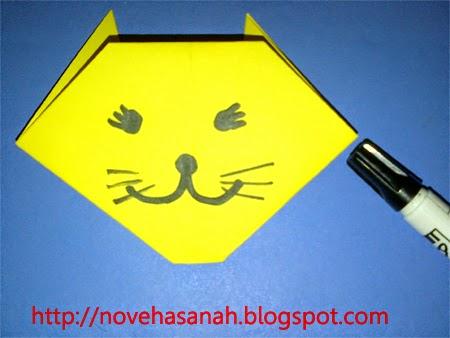 Origami Untuk Anak Tk Kucing