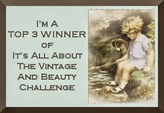 Vintage and Beauty challenge 67/10.5.2014