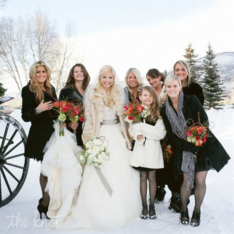 Tidebuy for Bridesmaid dresses for a winter wedding