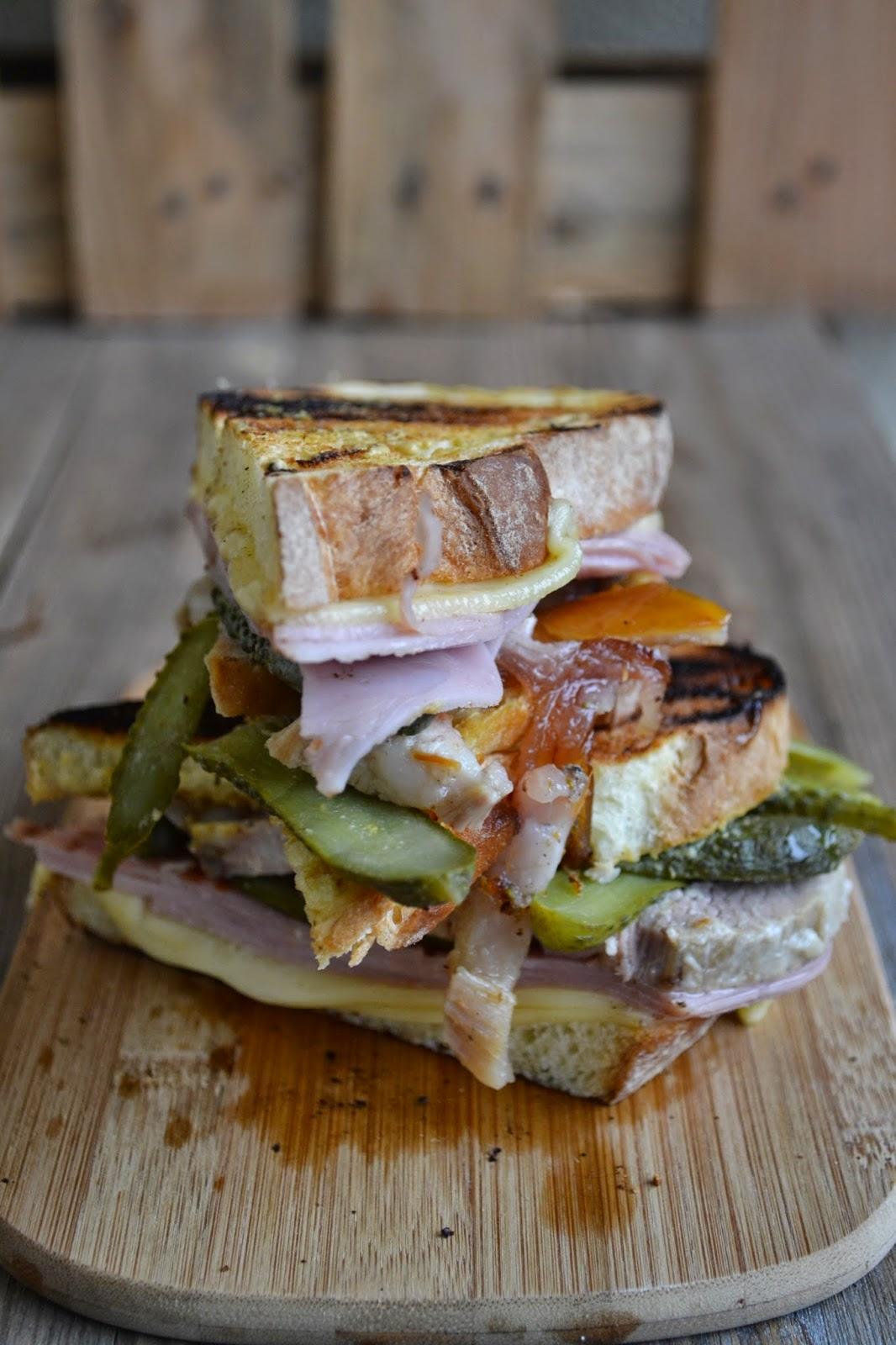 ricetta sandwich cubano