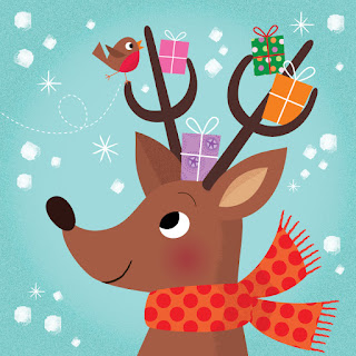 Amy Cartwright | Reindeer and Robin