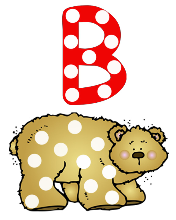 Animals That Start With The Letter B Letter b -bear & bee